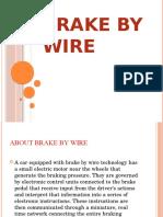 8.0 BRAKE BY WIRE JA505