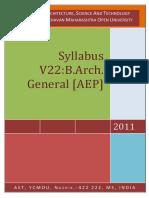 V 22_BArch Gen Syllabus 2010 Pattern (1)