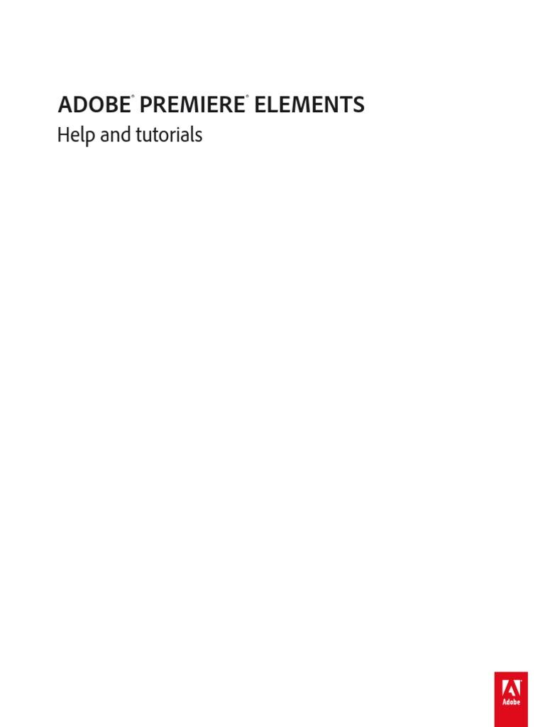 adobe premiere elements 11 manual pdf digital video video rh scribd com adobe encore manual cs6 adobe encore menu text