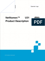 ZTE NetNumen U31(BN) Product Description