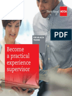 Become a Practical Experience Supervisor
