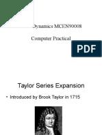 Computer Practicals MCEN90008 Lfsdfdseon