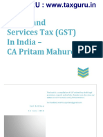 GST in India e Book CA Pritam Mahure