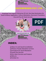 Saudi Embassy Attestation Procedure