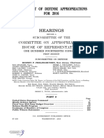 HOUSE HEARING, 114TH CONGRESS - DEPARTMENT OF DEFENSE APPROPRIATIONS FOR 2016