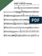 Já Refulge a Glória Eterna - Violino I