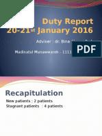Duty Report  madina.pptx