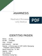 Anamnesis Kejang Dr. Debbie, Sp.A