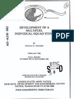 Development of a Multifuel Stove