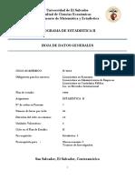 Programa Estadistica II 2016