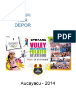 Bases Olimpiadas 32494 Aucayacu 2014