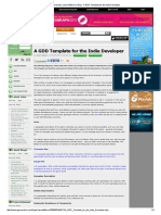 Getting Started Resource 01 Gamasutra_ Jason Bakker's Blog - A GDD Template for the Indie Developer