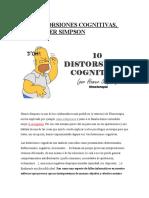 Las Distorsiones Cognitivas