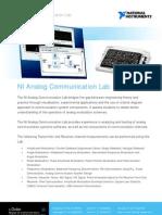 Analog Communication Lab