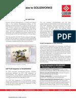 Cideon Sap Plm Integration to Solidworks 2014 En1