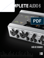 Komplete Audio 6 Manual Spanish