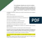 Contenido Del Informe de Hidrología Para Servicio de Consultoría