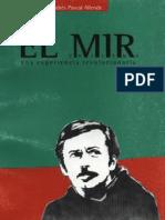 El MIR - una experiencia revolucionaria - Pascal-Allende.pdf