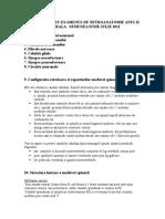 Subiecte Neuro-Anatomie Anul II, Sem. II