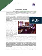 Negociación Caso de Investigación N_ 11 (Empresarios Piden Pacto Social)