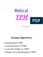 TPM for Print