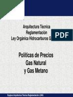 precios del gas natural