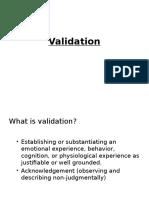 Validation Powerpoint