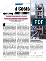 CHE Art. April 2009 - Capital Costs Quickly Calculated