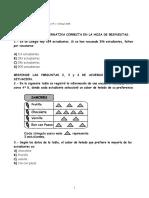 Evaluación Estandarizada de Matemática