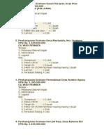 Daftar Paket Drainase Luwu Timur