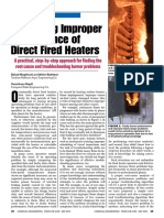 Correcting Improper Performance of Direct Fired Heaters - May 2013