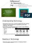technology in a classroom setting