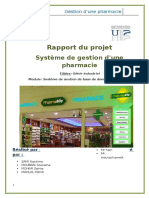 Rapport Gestion Pharmacie
