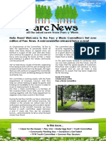 parc news edition one  summer 2016