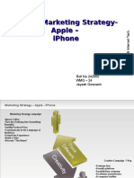 iPhone Digital MKT Strategy