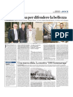 10.8.2016, 'Una Vita Spesa Per Difendere La Bellezza', La Voce Di Romagna
