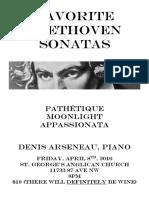 2016.04 - Concert Poster