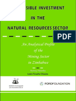 Responsible Investment in the Natural Resources Sector