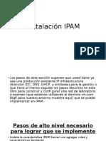 Instalacion Ipam