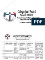 Formato Planeacion Segundo de Sec 2014