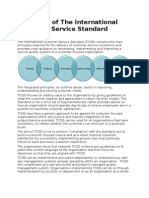 Principles of the International Customer Service Standard