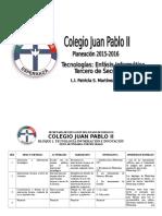Formato Planeacion Tercero de Sec 2014