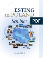 Investing in Poland Seminar Program