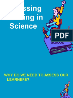 1.5 Assessing Learning in Science