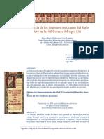 Impresos mexicanos del siglo XVI