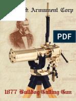 1877 Bulldog Gatling Gun Broucher