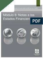 Notasalos Estados Financieros