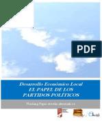 Desarrollo Económico Local. EL PAPEL DE LOS PARTIDOS POLÍTICOS