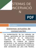 Sistemas de Conservacion