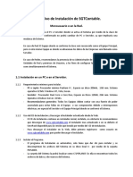 Instrutivo de Instalación de SGTContable
